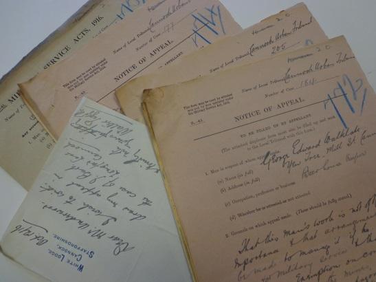 Appeals records