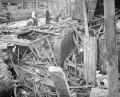 air raid damage during WW1